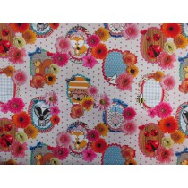 Canvas - Digitaldruck - Fabric Fever by Cherry Picking